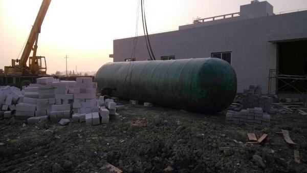 玻璃钢一体化工业污水处理设备
