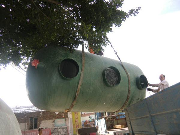 珠海京珠高速服务区玻璃一体化污水处理设备