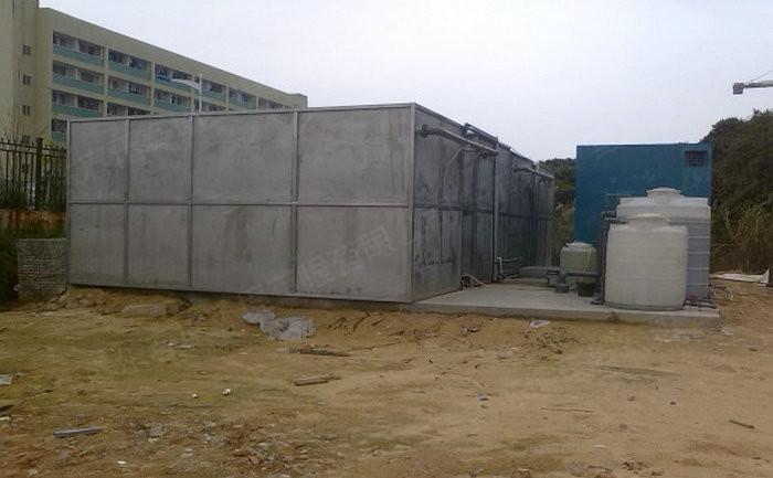 不锈钢材质一体化污水处理设备