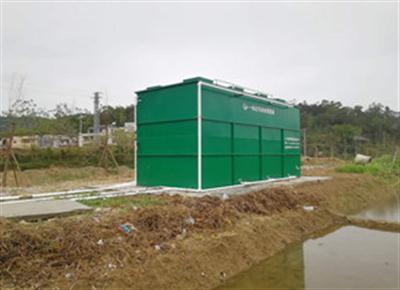 DNR一体化农村污水处理技术